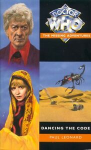 3rd-Dr-Doctor-Who-Missing-Adventures-Book-DANCING-THE-CODE-Mint-New
