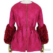 Moncler Gamme Rouge Exquisite Rose Petal Slim-Fit Coat Jacket Size 0 IT38