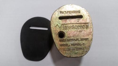 Viewsonics Security Lockinator Pedestal Lock VSPEDL-2 Fast Shipping!!!