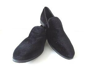 plain black loafers