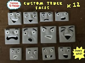 HORNBY-BACHMANN-THOMAS-AND-FRIENDS-CUSTOM-TROUBLESOME-TRUCK-FACES-X12-READ-LOOK