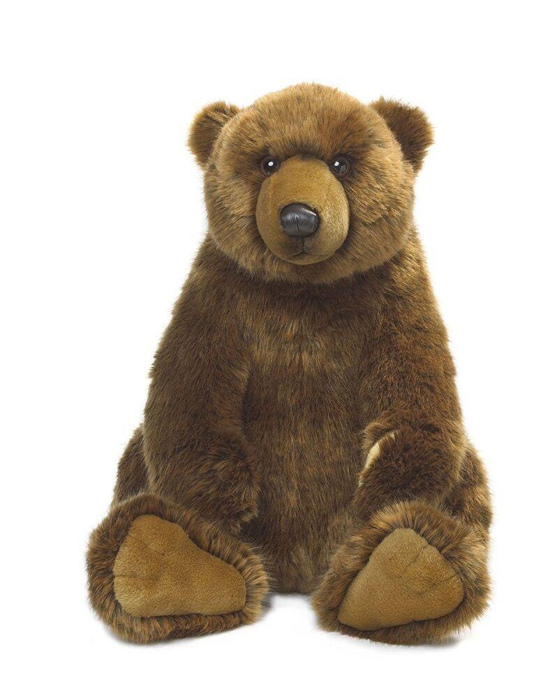 Peluche Orso Grizzly Grizzly Grizzly 47 cm peluches WWF PS 07204 2dcff0