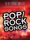 Best Pop/Rock Songs Ever (Pvg) by Hal Leonard Corporation (Paperback, 2015)