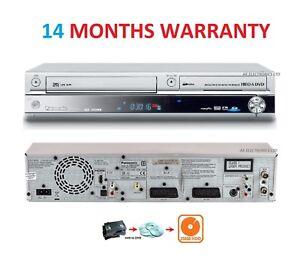 Panasonic Region Free DMR-EX95V DVD/VHS/HDD 250GB Recorder HDMI VCR Freeview DVB
