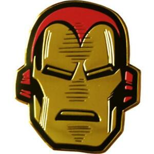 IRON-MAN-Head-On-Gold-Metal-New-Sticker-Decal-Marvel-Comics-super-hero