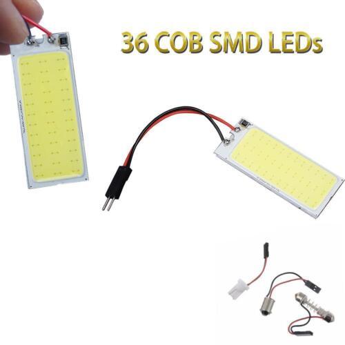 COB LED Panel Bulbs Car Interior Dome Map License Panel Lights·