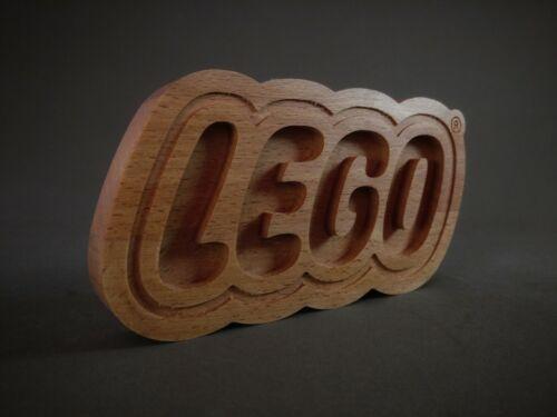 Lego logo sign wood gift kids ninjago technic birthday movie games star wars