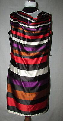 yessica damen sommer kleid Ärmellos bunt gr. 44 shirtkleid