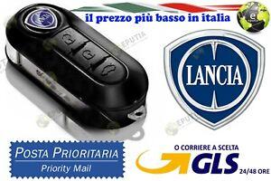 Chiave-Cover-Telecomando-Guscio-tasti-LANCIA-Y-MUSA-DELTA-LOGO-NON-INCLUSO