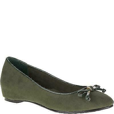 Soft Style By Hush Puppies Cahill Womens Rosin Faux Sued Flats