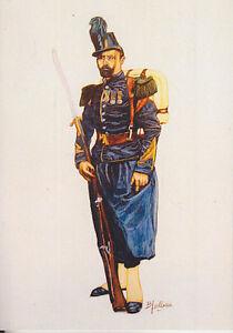 C1 Carte Postale DESSIN JULLIAN CHASSEUR A PIED Napoleon III 24 Second Empire BLbqYYoa-09153148-534337468