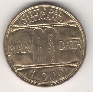 Giovanni Paolo Ii Vaticano 200 Lire 1993 #mm92 Laissons Nos Produits Aller Au Monde
