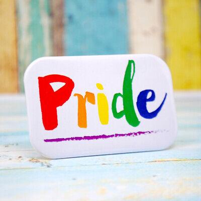 Di Larghe Vedute Pride Badge ~ Distintivo Gay Pride ~ Gay Pride Accessori- Lustro Incantevole