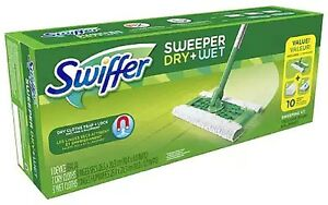 Swiffer Sweeper Floor Mop Starter Kit 1 Ea Pack Of 4 Ebay