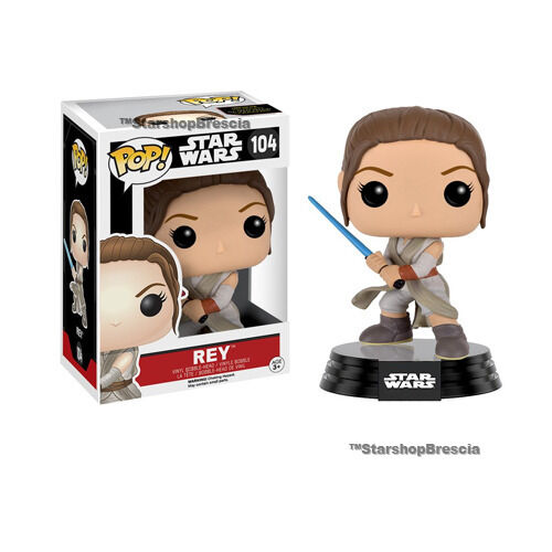 Rey Battle Pose Vinyl Figure Funko POP Star Wars Episode VII #104