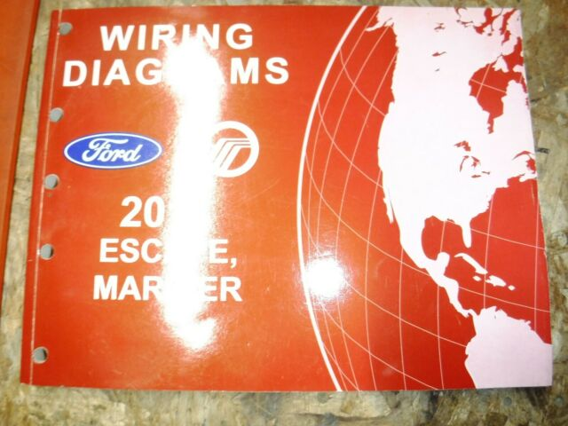 2011 FORD ESCAPE MERCURY MARINER ORIGINAL FACTORY WIRING ...