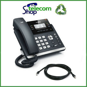 Details about Yealink T42G IP Desk Phone in Black SIP-T42G NEW
