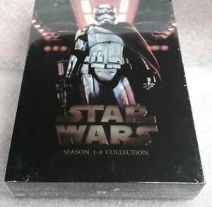 Star-Wars-The-Complete-Saga-1-8-Complete-DVD-Set-14-discs-FREE-Shipping