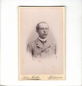 CDV-Foto-Herrenportrait-Hameln-um-1890