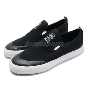 the best attitude de004 8a1f6 Image is loading adidas-Originals-Matchcourt-Slip-on-Black-White-Men-