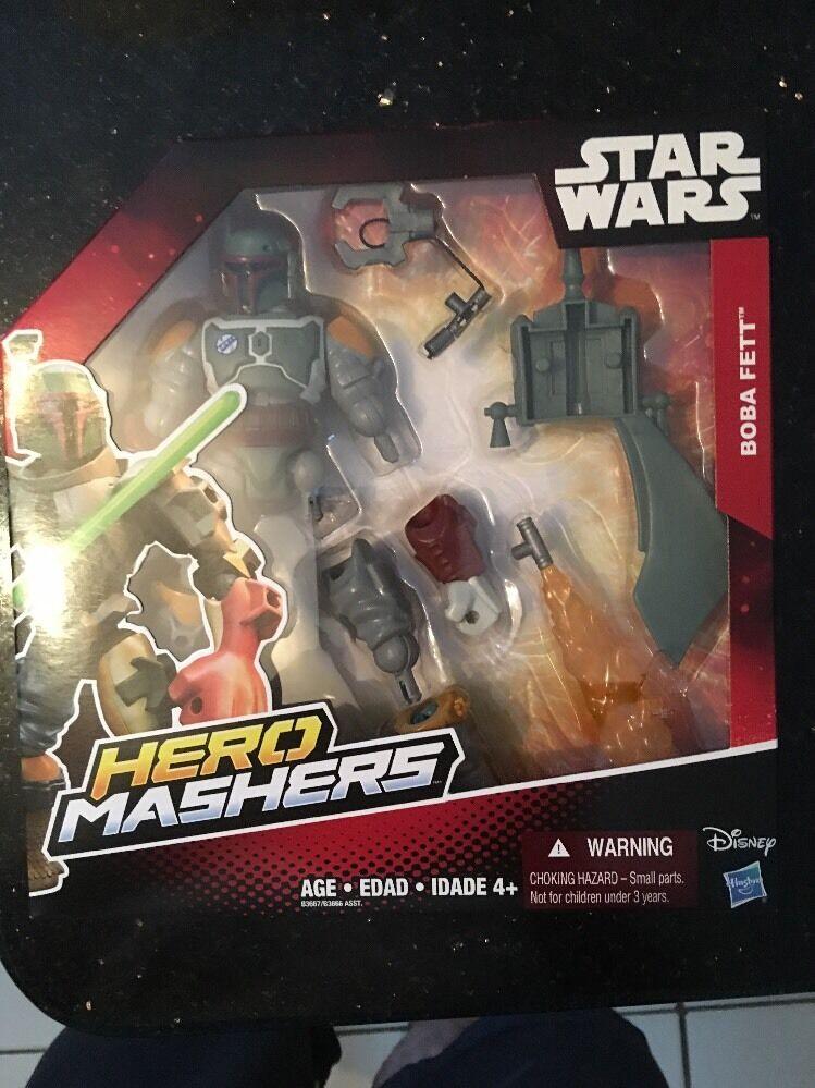 STAR Wars Hero Mashers Episodio III GENERALE GRIEVOUS NUOVO DA HASBRO