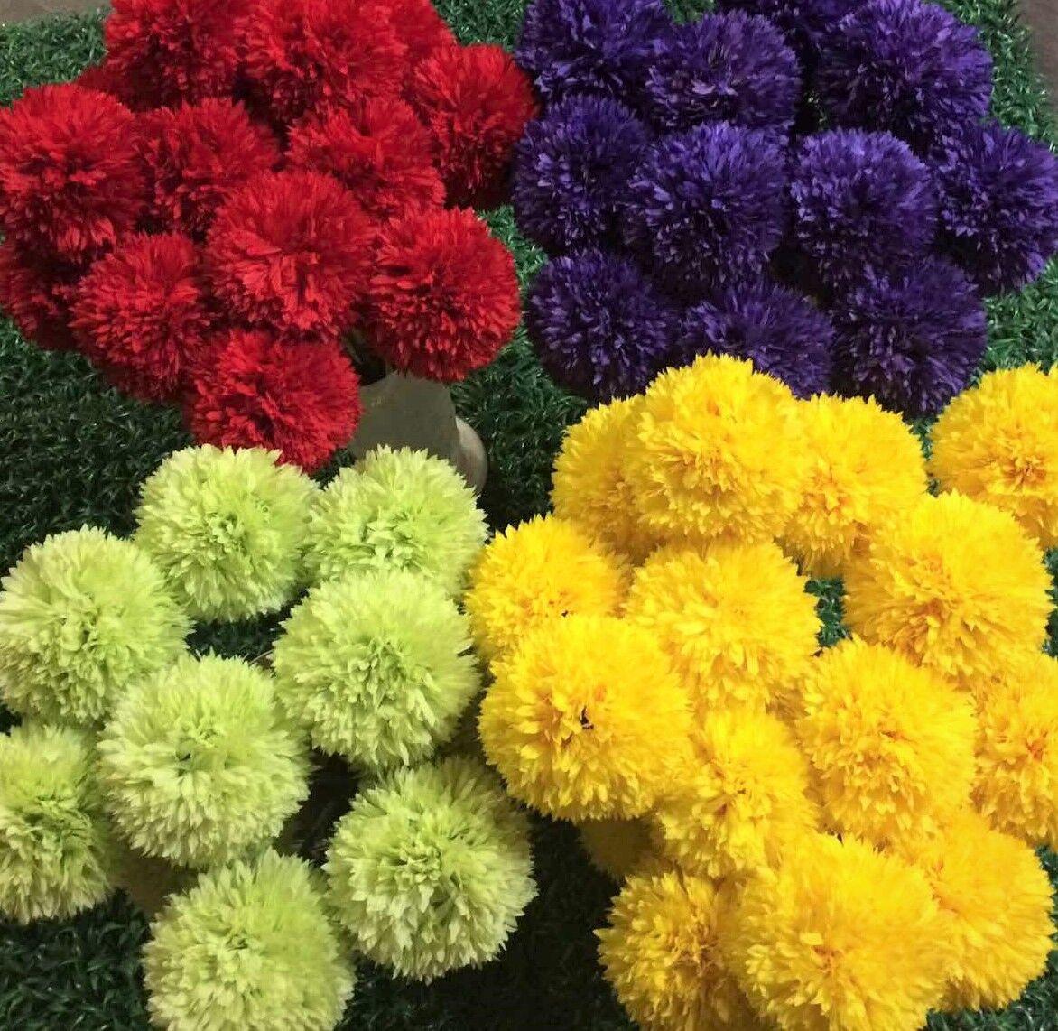 Artificial Allium flower ball wedding home decor joblot wholesale 24 stems bulk