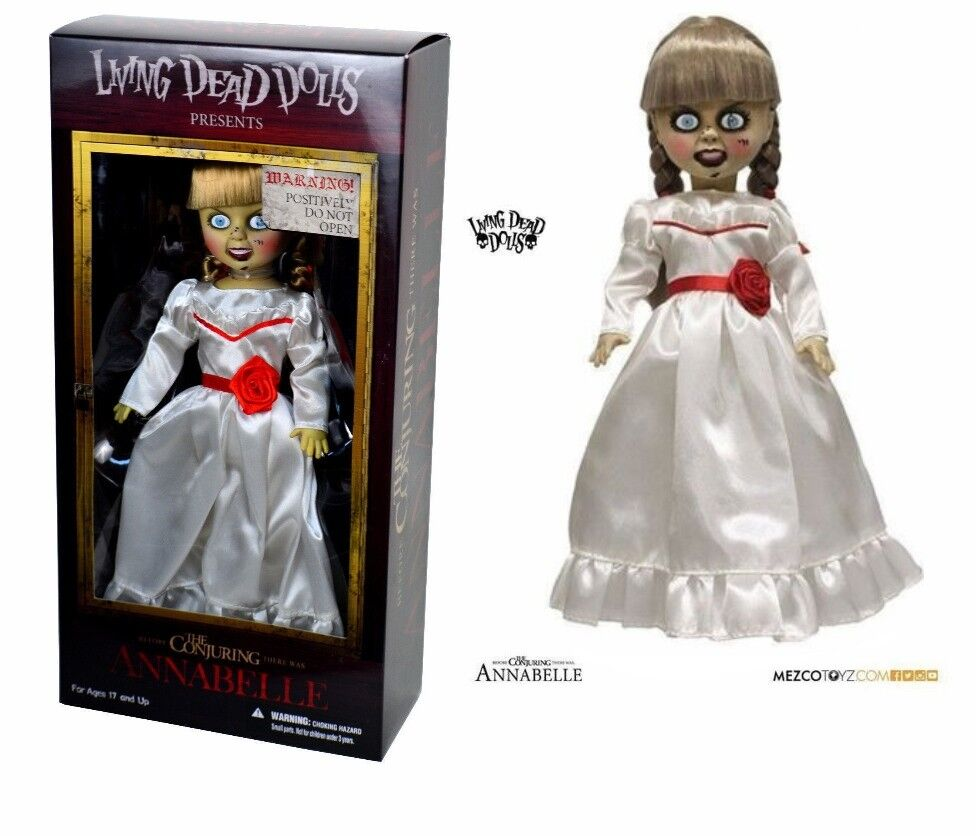 LDD LIVING DEAD DOLLS Annabelle The Conjuring L'evocazione Mezco Action Figure