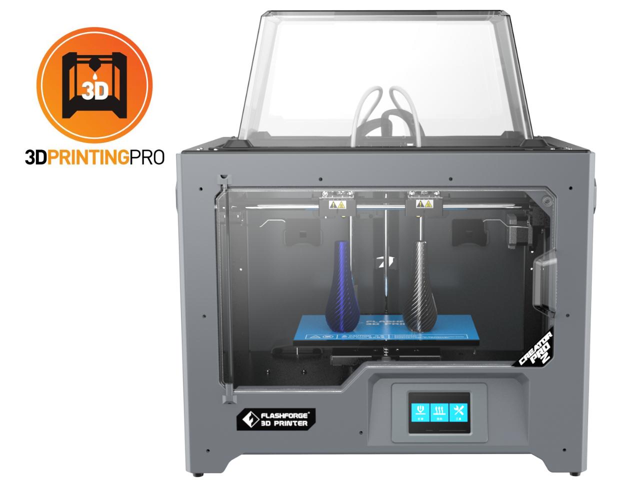 Flashforge Creator Pro 2 3D Printer - Independent Dual Extruder (IDEX)