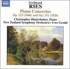 Ferdinand Ries: Piano Concertos Op. 123 (1806) & Op. 151 (1826) (CD, Oct-2005, Naxos (Distributor))