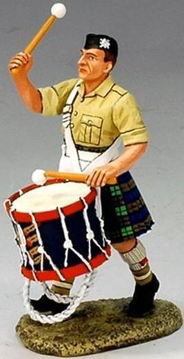 King & Land Britisch Eighth Armee ea026e Armee Bassdrum MIB