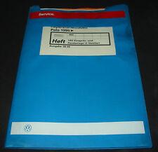 Werkstatthandbuch VW Polo III 6N 1AV Einspritzanlage Zündanlage 2 Ventiler AEE