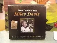 "MILES DAVIS "" ONLY ORIGINAL HITS "" 2CD 2002"