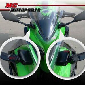 Delrin Mirror Riser Adaptor Extender Fit Kawasaki Ninja 400 EX400 2018-2020