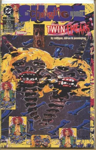 Shade the Changing Man 1990 series # 28 near mint comic book