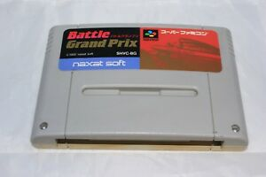 Battle-Grand-Prix-Super-Famicom-SFC-Japan-Game-North-American-Seller