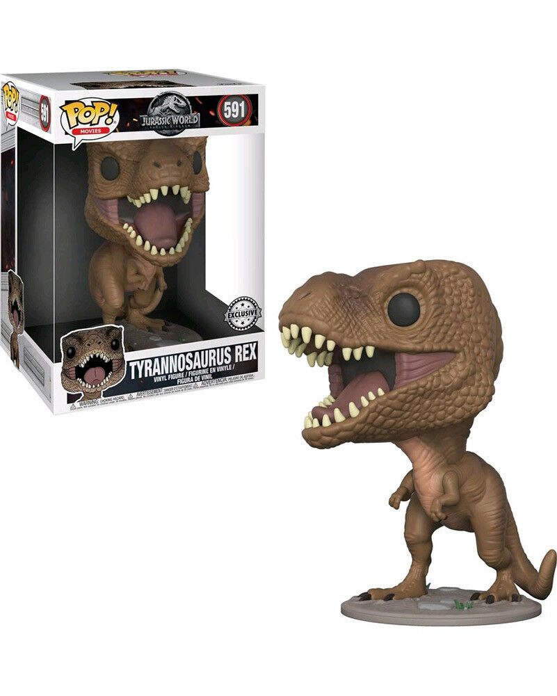 Jurassic World 2 T Rex 25cm Pop Vinyl One Size