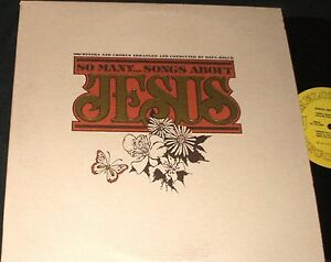 DOUG HOLCK So Many Songs About JESUS LP PRIVATE OBSCURE XIAN