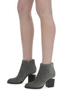 Alexander Wang GABI Gray Suede Boots