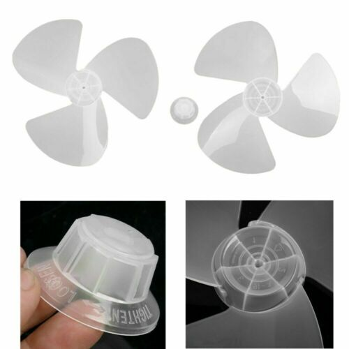 General Plastic Fan Blade 5//3 Leaves /& Fun Nut Pedestal//Table Fanner Replacement