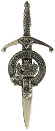 Robust /& Quality made in UK Premium SCOTTISH Clan Crest Kilt Pin Clans L-Y