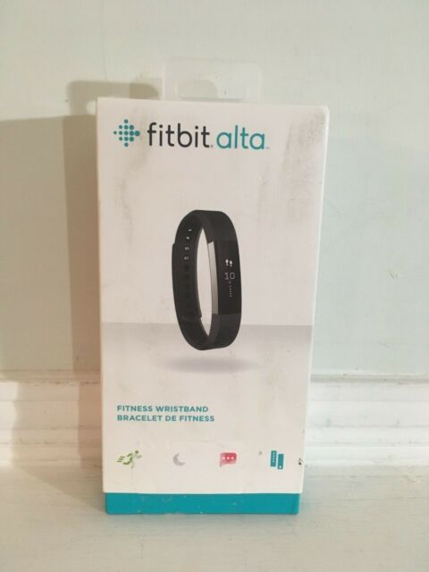 Fitbit Alta Fitness Activity Tracker Large Black