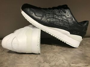 SCARPE SHOES ASICS TIGER GEL LYTE III 3 V 100% PELLE SALES SAMPLE H7Y1L LEATHER