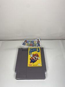 Super Mario Bros. 3 -- Nintendo NES RARE First Print Left Bros Game Only LOOK!