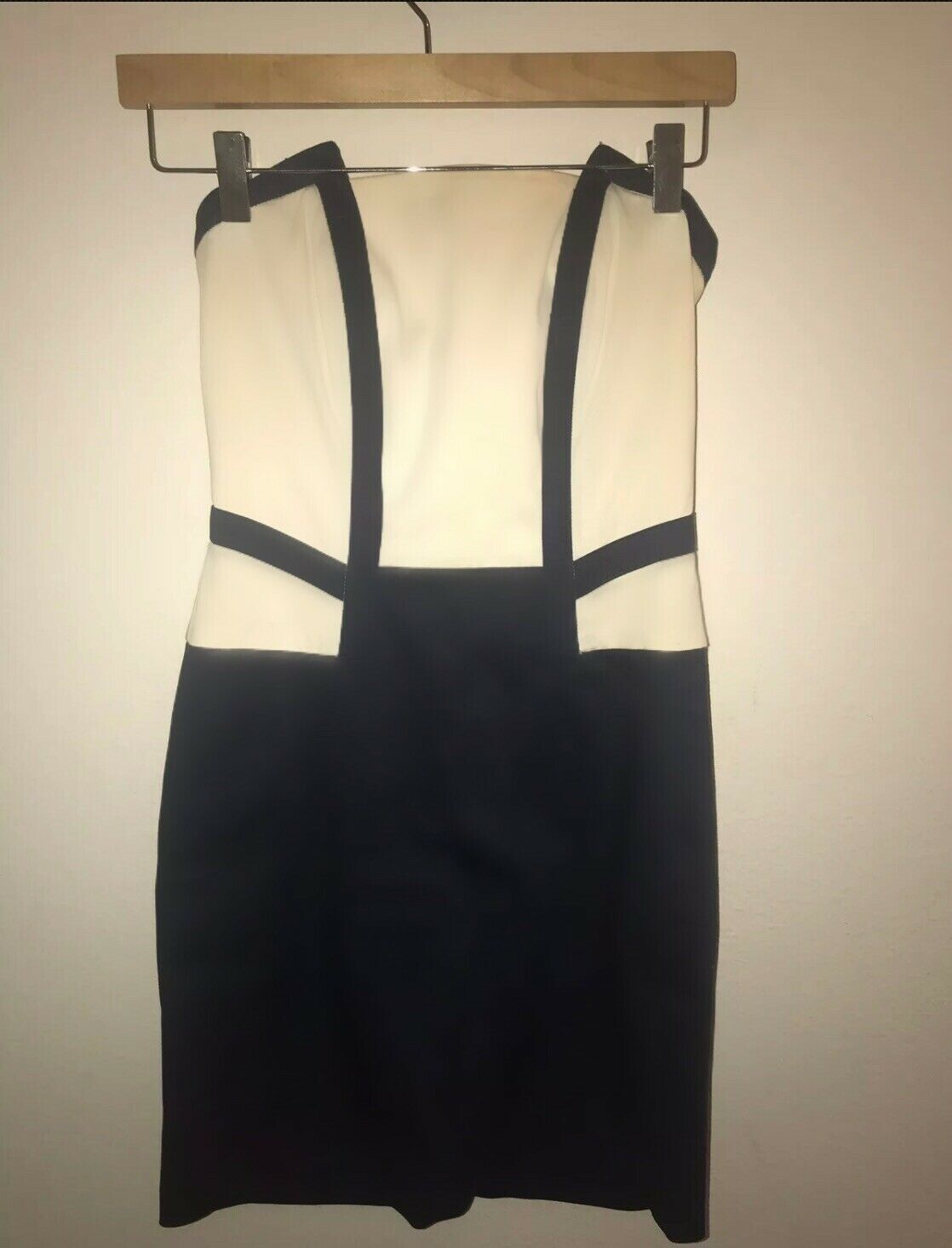 CUTE AND CLASSIC CLASSIC CLASSIC STRAPLESS NAVY-STYLE DRESS (EUROPEAN) b39aa0