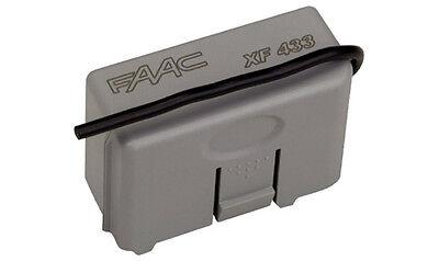 FAAC XF 868 319007 RICEVENTE RICEVITORE RADIO INNESTO 1 CANALE