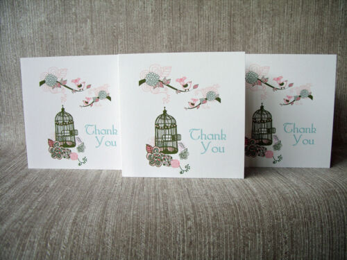 pack of 6 cards /& envelopes Thank you cards Multi buy discounts available