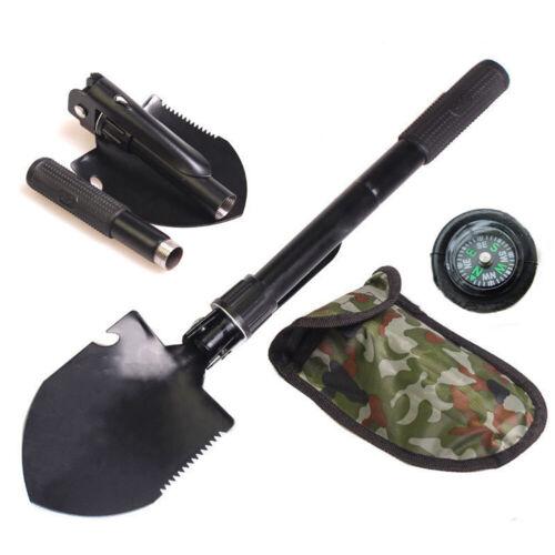 Trave Hiking Multi-Functional Military Foldable Shovel Survival Spade Emergency