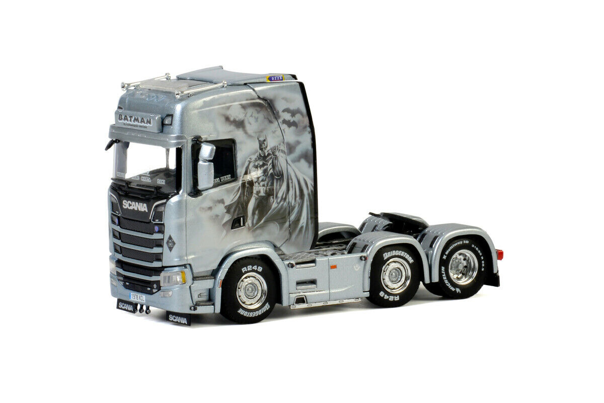 WSI 01-2755 Daniel Garcia Scania S Highline CS20H 6x2 Twin Steer NEW OVP