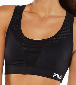 941611c7de71a NEW FILA SPORT® Bra  Core Essential High-Impact Sports Bra Black ...