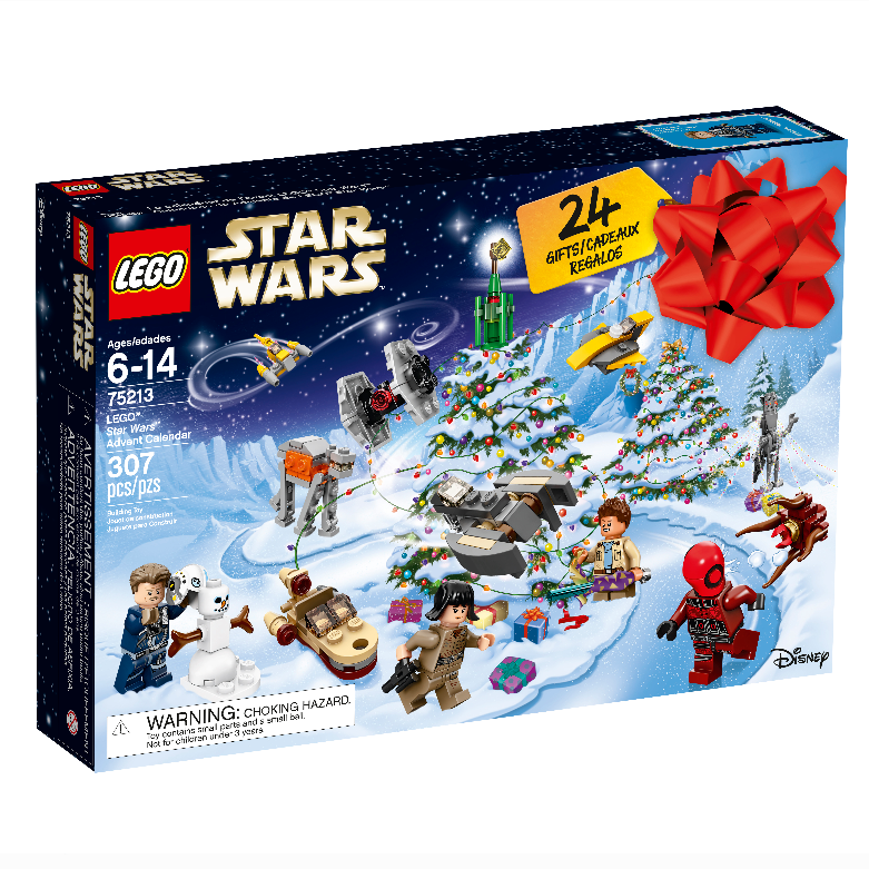 Lego Star Star Star Wars 2018 24 Day 307 Piece Kids Toy Advent Calendar Gift Set d28ab0